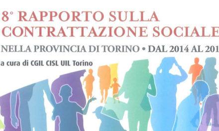 Pubblicato l'8° Rapporto sulla contrattazione sociale nella provincia di Torino