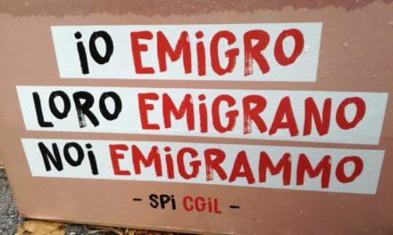Io emigro, loro emigrano, noi emigrammo.