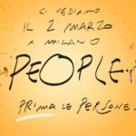 People – Prima le Persone: il 2 marzo a Milano  per un mondo che metta al centro le persone.