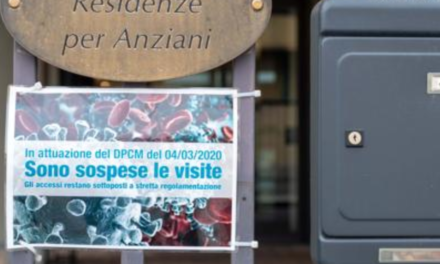 SITUAZIONE E INTERVENTI – RSA Regione Piemonte